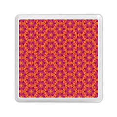 Pattern Abstract Floral Bright Memory Card Reader (Square)