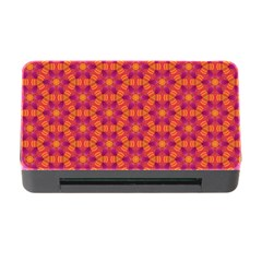Pattern Abstract Floral Bright Memory Card Reader With Cf