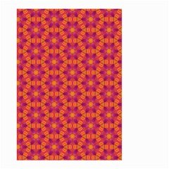 Pattern Abstract Floral Bright Small Garden Flag (Two Sides)