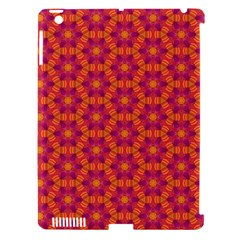 Pattern Abstract Floral Bright Apple iPad 3/4 Hardshell Case (Compatible with Smart Cover)