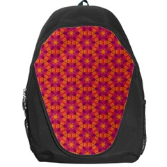 Pattern Abstract Floral Bright Backpack Bag