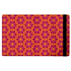 Pattern Abstract Floral Bright Apple Ipad 3/4 Flip Case
