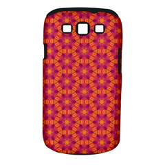 Pattern Abstract Floral Bright Samsung Galaxy S Iii Classic Hardshell Case (pc+silicone)
