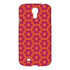 Pattern Abstract Floral Bright Samsung Galaxy S4 I9500/I9505 Hardshell Case
