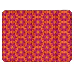 Pattern Abstract Floral Bright Samsung Galaxy Tab 7  P1000 Flip Case