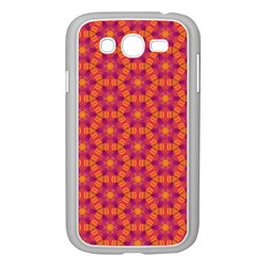 Pattern Abstract Floral Bright Samsung Galaxy Grand DUOS I9082 Case (White)