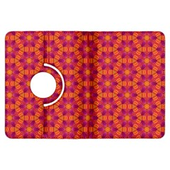 Pattern Abstract Floral Bright Kindle Fire HDX Flip 360 Case