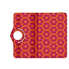 Pattern Abstract Floral Bright Kindle Fire HDX 8.9  Flip 360 Case