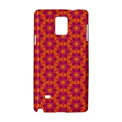 Pattern Abstract Floral Bright Samsung Galaxy Note 4 Hardshell Case