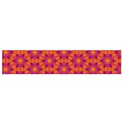 Pattern Abstract Floral Bright Flano Scarf (small)