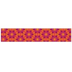 Pattern Abstract Floral Bright Flano Scarf (Large)