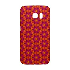 Pattern Abstract Floral Bright Galaxy S6 Edge