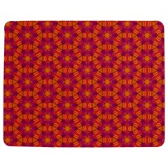 Pattern Abstract Floral Bright Jigsaw Puzzle Photo Stand (Rectangular)