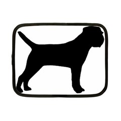 Border Terrier Silhouette Netbook Case (Small)