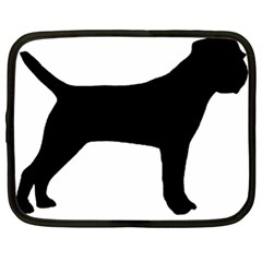 Border Terrier Silhouette Netbook Case (XL)