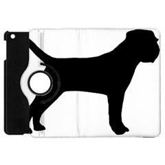 Border Terrier Silhouette Apple iPad Mini Flip 360 Case