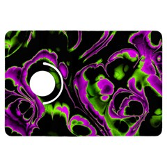 Glowing Fractal B Kindle Fire HDX Flip 360 Case