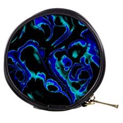 Glowing Fractal C Mini Makeup Bags