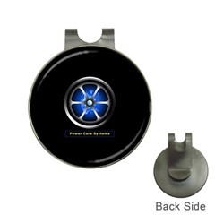 Power core Hat Clips with Golf Markers