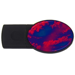 Sky pattern USB Flash Drive Oval (4 GB)