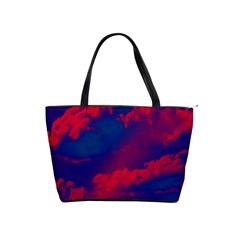 Sky pattern Shoulder Handbags
