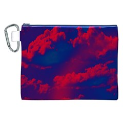 Sky pattern Canvas Cosmetic Bag (XXL)