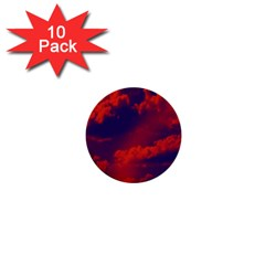 Sky pattern 1  Mini Buttons (10 pack)