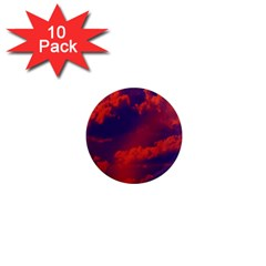 Sky pattern 1  Mini Magnet (10 pack)