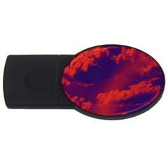 Sky pattern USB Flash Drive Oval (1 GB)