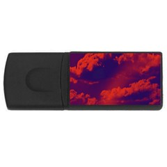 Sky pattern USB Flash Drive Rectangular (4 GB)