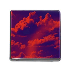 Sky pattern Memory Card Reader (Square)