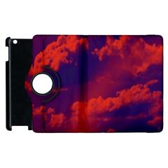 Sky pattern Apple iPad 3/4 Flip 360 Case