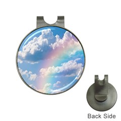 Sky pattern Hat Clips with Golf Markers
