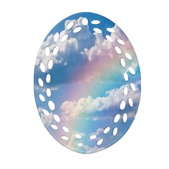 Sky pattern Ornament (Oval Filigree)