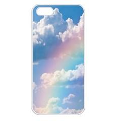 Sky pattern Apple iPhone 5 Seamless Case (White)