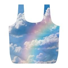 Sky pattern Full Print Recycle Bags (L)