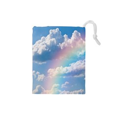 Sky pattern Drawstring Pouches (Small)