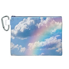 Sky pattern Canvas Cosmetic Bag (XL)