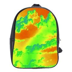 Sky pattern School Bags(Large)