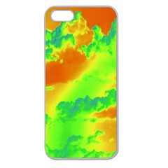 Sky pattern Apple Seamless iPhone 5 Case (Clear)