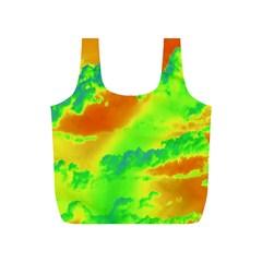 Sky pattern Full Print Recycle Bags (S)
