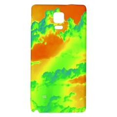 Sky pattern Galaxy Note 4 Back Case