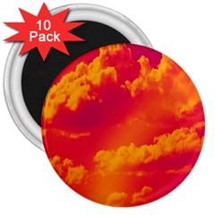 Sky pattern 3  Magnets (10 pack)