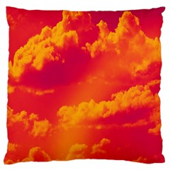 Sky pattern Large Cushion Case (Two Sides)