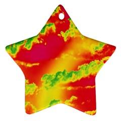 Sky pattern Ornament (Star)