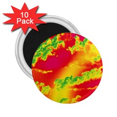 Sky pattern 2.25  Magnets (10 pack)