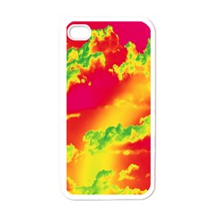 Sky pattern Apple iPhone 4 Case (White)