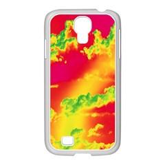 Sky pattern Samsung GALAXY S4 I9500/ I9505 Case (White)