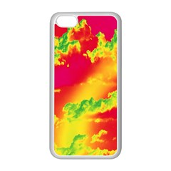 Sky pattern Apple iPhone 5C Seamless Case (White)