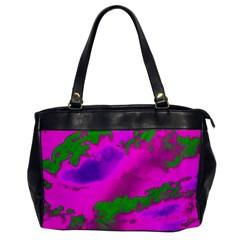 Sky pattern Office Handbags